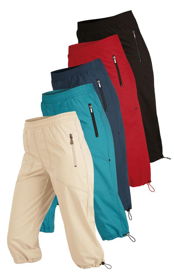 Kalhoty dámské v 3/4 délce do pasu. 99579 | Sportovní kalhoty, tepláky, kraťasy LITEX