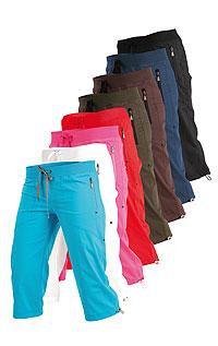 Kalhoty dámské v 3/4 délce bokové.