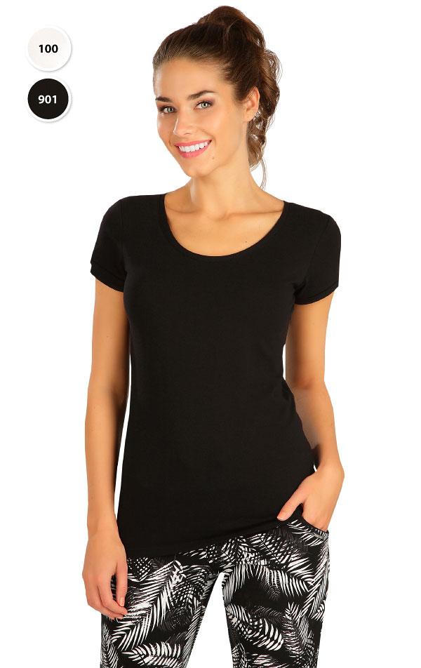 Triko dámské s krátkým rukávem. 99591 | Tílka, trička, halenky LITEX