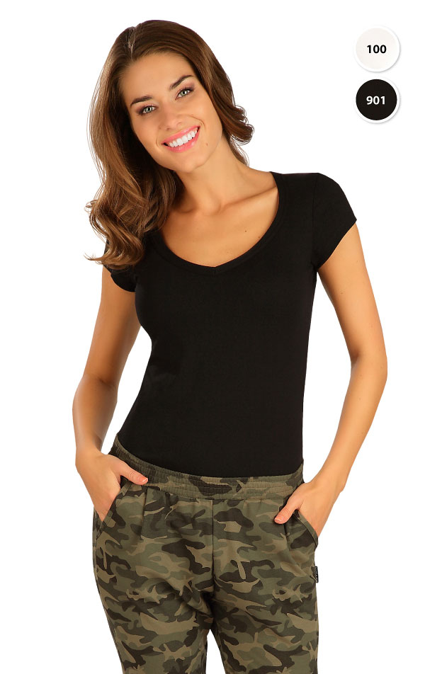 Triko dámské s krátkým rukávem. 99592 | Trika, topy, tílka LITEX