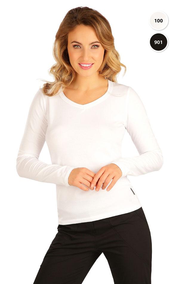 Tričko dámské s dlouhým rukávem. 99596 | Tílka, trička, halenky LITEX