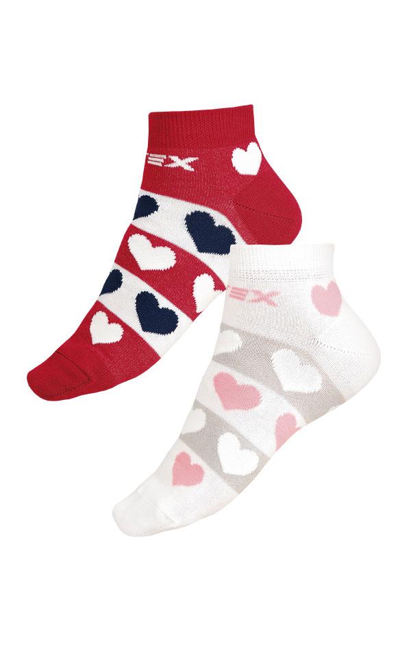 Designové ponožky nízké. 9A003 | PONOŽKY LITEX