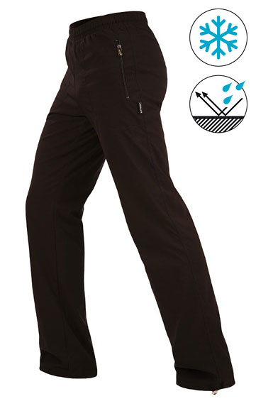 Kalhoty zateplené, softshell > Kalhoty pán.zateplené - prodloužené. 9C453