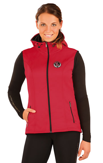 Mikiny a vesty > Vesta dámská s kapucí. J1051