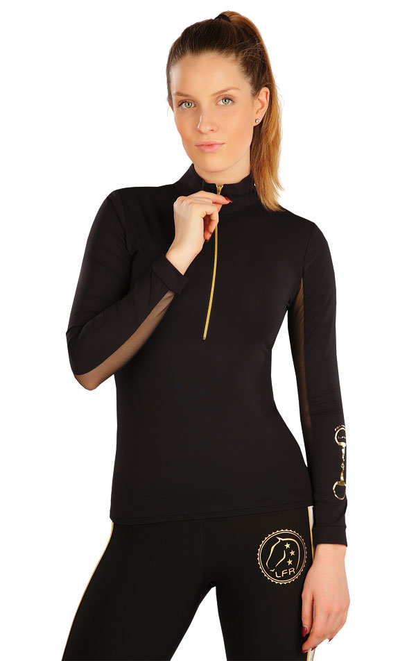 Triko dámské s dlouhým rukávem. J1070 | Jezdecká trika LITEX
