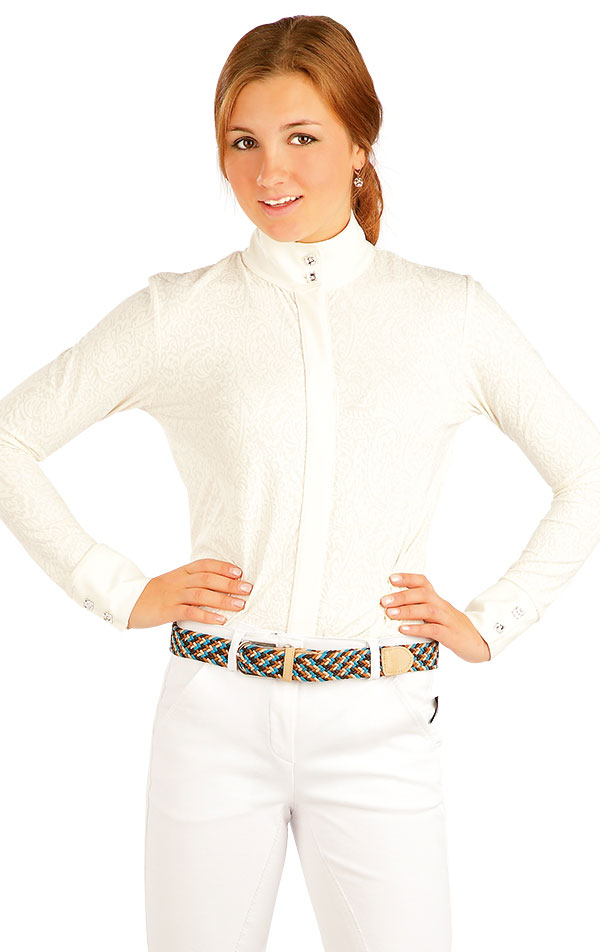 Košile dámská. J1105   Jezdecká trika LITEX