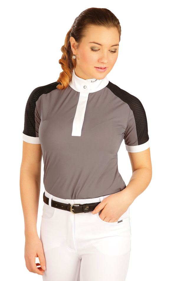 Triko dámské s krátkými rukávy. J1146   Jezdecká trika LITEX