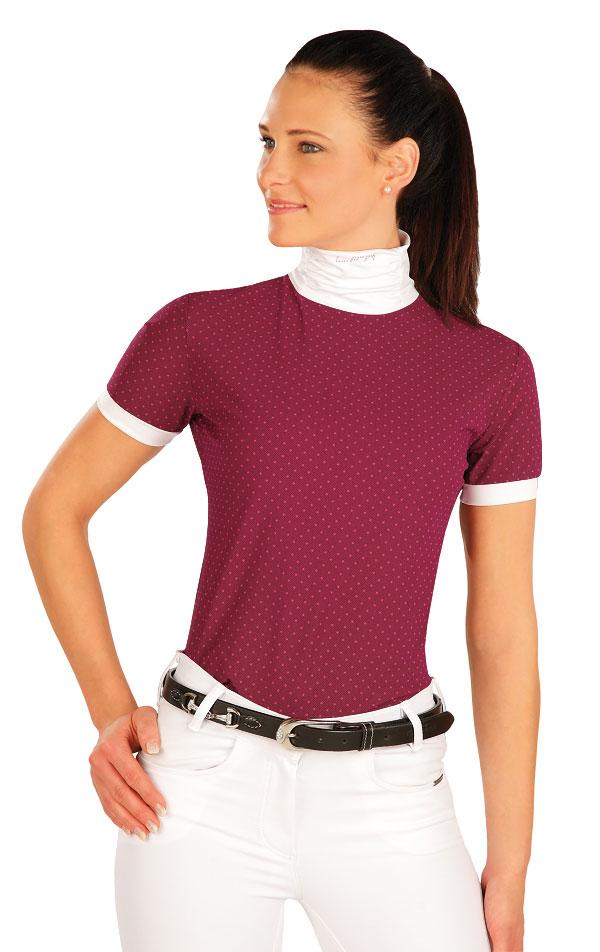 Triko dámské s krátkými rukávy. J1169   Jezdecká trika LITEX