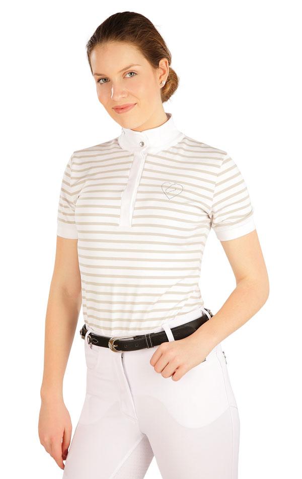 Triko dámské s krátkým rukávem. J1212 | Jezdecká trika LITEX