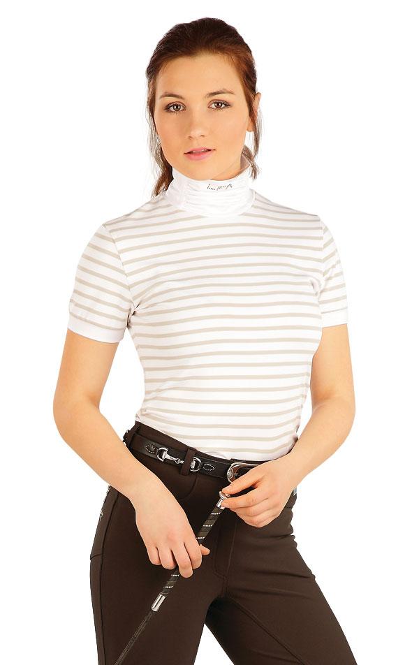 Triko dámské s krátkým rukávem. J1213   Jezdecká trika LITEX