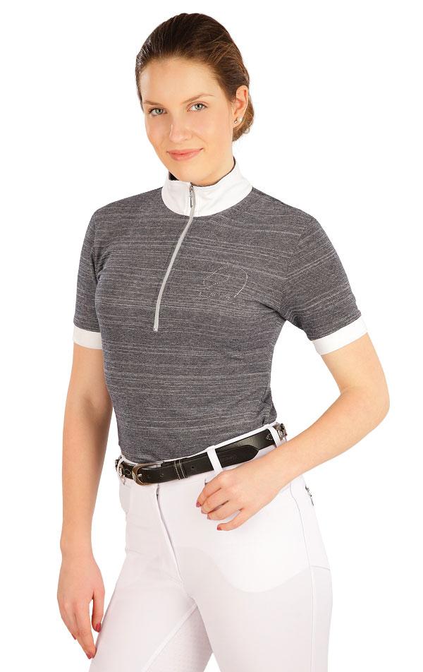 Triko dámské s krátkým rukávem. J1216 | Jezdecká trika LITEX