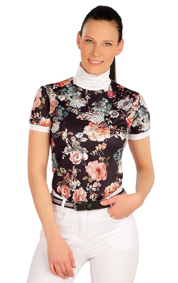 Tričko dámské s krátkým rukávem. J1249 | Jezdecká trika LITEX
