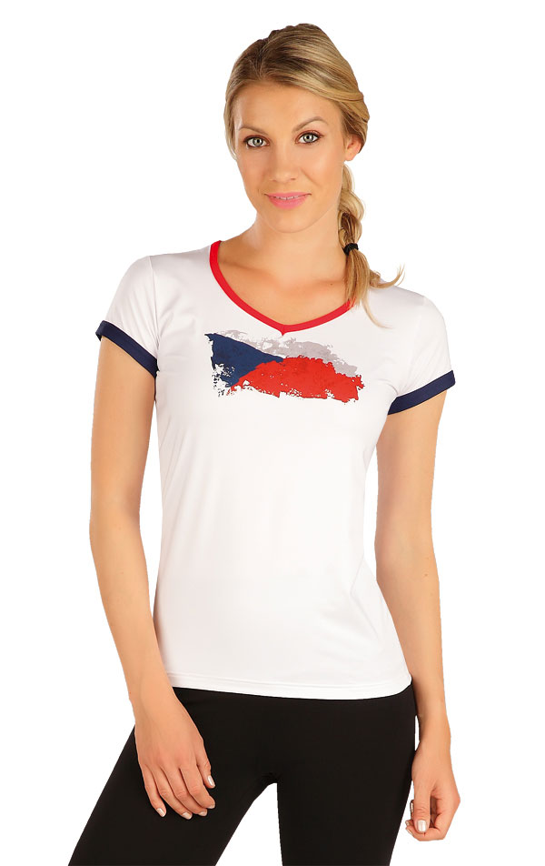 Tričko dámské s krátkým rukávem. J1256 | Jezdecká trika LITEX