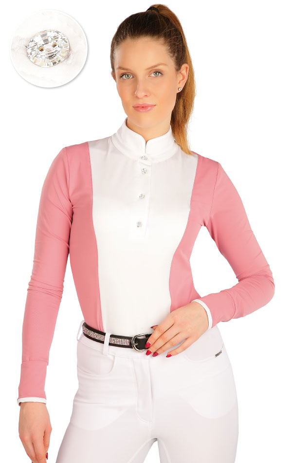 Tričko dámské s dlouhým rukávem. J1257   Jezdecká trika LITEX